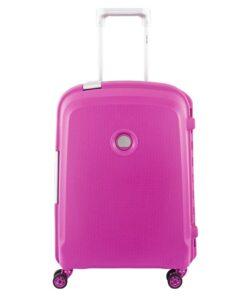 Delsey Belfort Plus 55 cm kabinekuffert pink