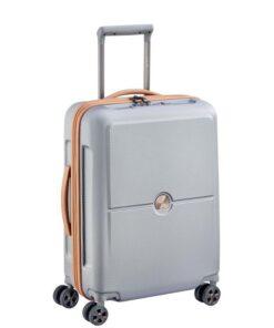 Delsey Turenne Premium Sølv Kabinekuffert