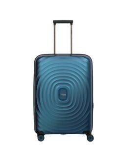 Titan Looping Blå Kuffert - Mellem - 64 cm