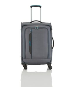 Travelite Crosslite Antracit Kuffert - Mellem - 67 cm