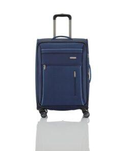 Travelite Capri Blå Kuffert - Mellem - 66 cm