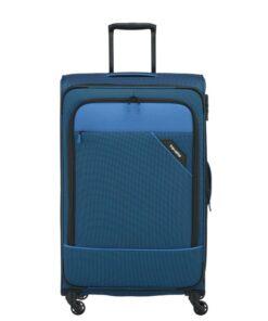 Travelite Derby Blå Kuffert - Stor - 77 cm