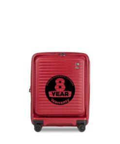 Echolac Celestra 55 cm rød kabinekuffert
