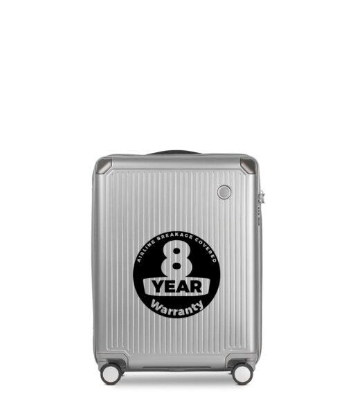 Echolac Shogun 55 cm sølv kabinekuffert